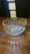 """Anchor Hocking Wexford Pattern Candy Dish Measures 4 1/2"""" Across 2 3/4"""" tall - $19.79"""