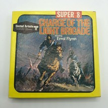 Vintage Charge Of The Light Brigade 8mm Super 8 Movie Errol Flynn Film U... - $22.00