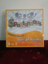 Spontuneous - The Song Game - Sing It or Shout It - Talent NOT Required ... - $37.40