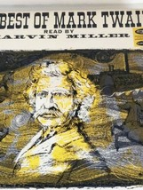 Miller, Marvin Best Of Mark Twain /LP vinyl  4 Record Box Set - $31.21