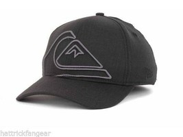 Quiksilver New Era 39Thirty Reform Stretch Fit Baseball Cap Hat  M/L - $18.99