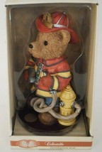 Classic Treasures Professional Bear Fireman Firefighter Collectible Ceramic - $24.99