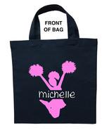 Cheerleader Trick or Treat Bag, Cheerleader Halloween Bag, Cheerleader Bag - $11.99+