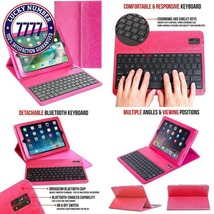 Ipad Air / Pro 9.7 Keyboard + Leather Case, Alpatronix Kx130 Bluetooth I... - $36.68