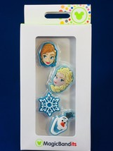 Disney Parks MagicBandits MagicBand Accessories Frozen Anna Elsa Olaf Sn... - £9.15 GBP