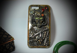 "New Steampunk case iPhone 8Plus \7Plus \ 6Plus  ""FallOut"", V1.2 - $349.00"