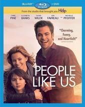 People Like Us (Blu-ray Disc, 2012, 2-Disc Set) Mint Disc - $3.71