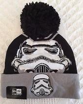 New Era Star Wars Stormtrooper Cuffed Knit Hat Cap - $14.95