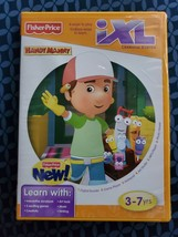 FISHER PRICE IXL LEARNING SYSTEM - HANDY MANNY / 3-7 Yrs / [SOFTWARE Dis... - $3.96