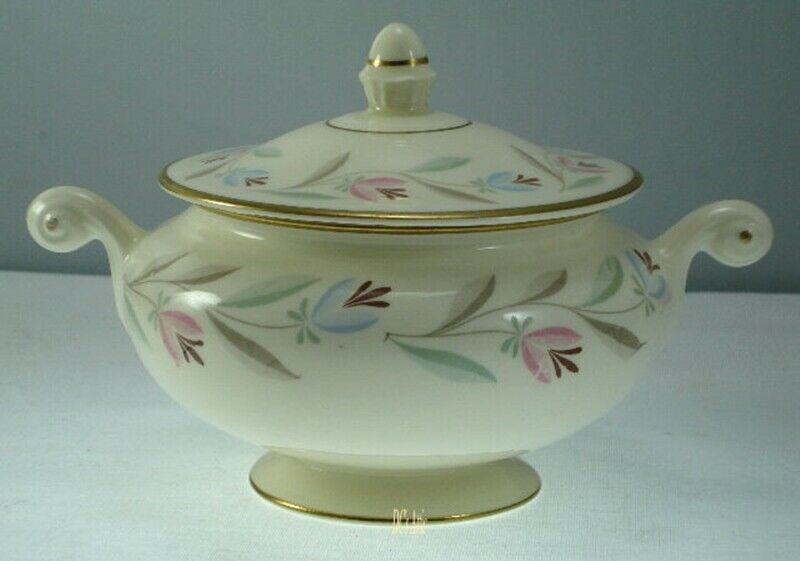 Homer Laughlin Nantucket N1753 Sugar Bowl with Lid
