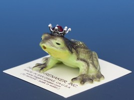 Birthstone Frog Prince Kissing July Ruby Miniatures by Hagen-Renaker image 1