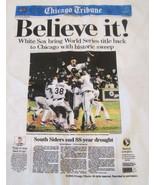 Chicago White Sox 5 Pc T-Shirts L 2005 World Series Chicago Tribune Beli... - $19.95