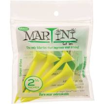 "5  Martini Midsize 2 3/4"" Golf Tees - Virtually Unbreakable - Yellow - $8.49"