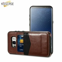KISSCASE® Leather Flip Case For Samsung S7 Edge S7 Case Coque Capa For S... - $9.19