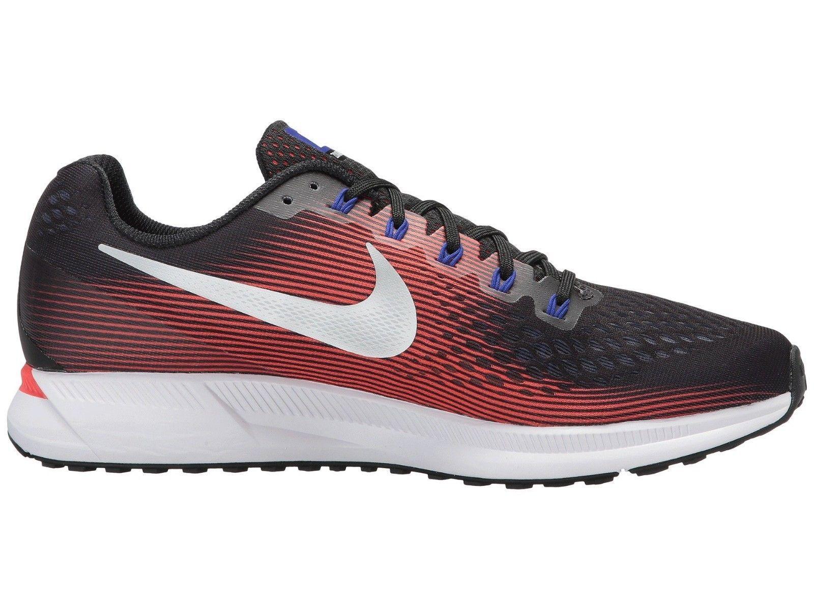 differently b25cd 7e618 Men s Nike Zoom Pegasus 34 Running Shoes, 880555 006 Multi Sizes Black Met  Silve