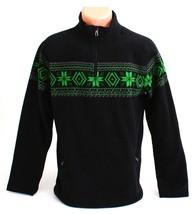 Polo Ralph Lauren Black 1/4 Zip Fleece Pullover Top Youth Boy's XL 18-20... - $70.53