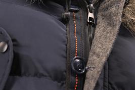 Men's Heavy Weight Warm Winter Coat Puffer Faux Fur Trim Sherpa Lined Jacket image 12