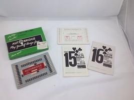 Vintage 1957 Auto Bridge Game Advanced Set Play Yourself Autobridge Comp... - $29.69
