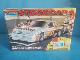 Monogram Davey Allison's Havoline Thunderbird Stock Car 1:24 1990 sealed... - $18.69