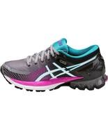 Asics Womens Gel Kinsei 6 Black Pink Grey Neutral Running Shoes Size T69... - £137.67 GBP