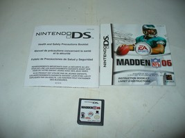 MADDEN NFL 2005 --- NINTENDO DS -- Game only - $4.83