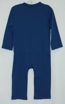 Blanks Boutique Boys Long Sleeved Romper Size 18 Months Color Blue image 2