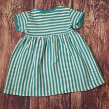 Hanna Andersson knit striped cotton dress sz 3 - $12.74