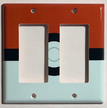 Pokemon Red Pokeball ball Light Switch Power Outlet Wall Cover Plate Home decor image 5