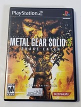 Metal Gear Solid 3: Snake Eater - Playstation 2 PS2 BL Black Label CIB C... - $15.79