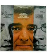 Mendelssohn - Italian Symphony  Schubert - Unfinished Leonard Bernstein ... - $12.86