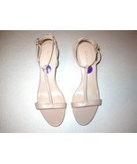New Womens 10 Calvin Klein Lola Heels Shoes Tan Khaki Sandal Open toe Le... - $90.00