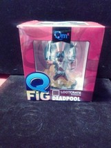 COLLECTIBLE MARVEL Q FIG LOOTCRATE EXCLUSIVE DEAD POOL.NEW IN ITS ORIGIN... - $12.89