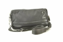 CHRISTIAN DIOR Nylon Shoulder Bag Black Auth ar1917 JUNK - $99.00