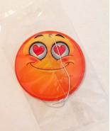 Air Freshener Emoji Emoticon Happy Love Smiling Fragrance Peachy Fruity - $1.49