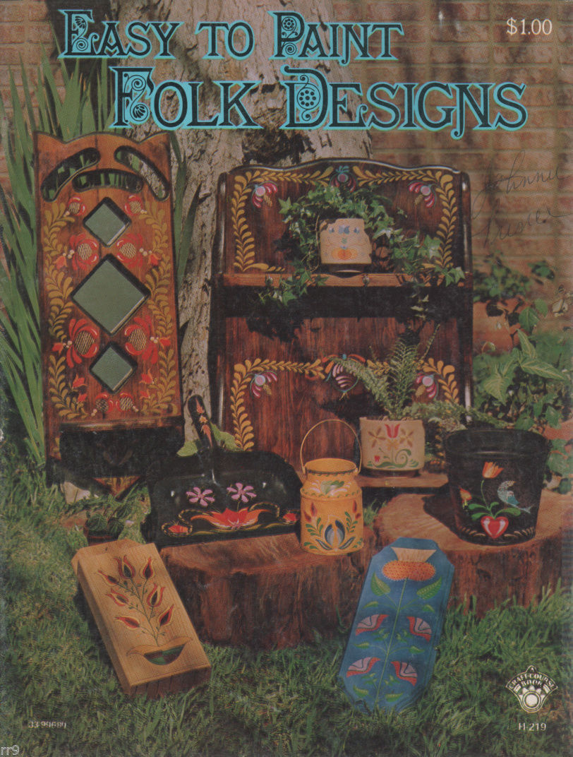 Primary image for Easy to Paint Folk Designs H219  Painting Book