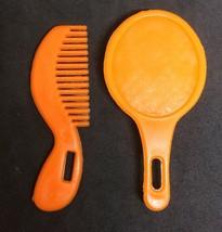 Knickerbocker Moppets Accessory– Orange Comb Brush (Secret Doll House 80... - $4.95