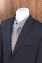 CALVIN KLEIN Size 40R Mens Striped Blazer Jacket Sport Coat 2-button 100... - $65.29