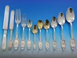 Kenilworth by Albert Coles Sterling Silver Flatware Set Dinner Service 1... - $15,750.00