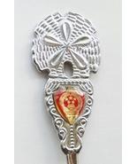 Collector Souvenir Spoon China National Emblem Coat of Arms Sand Dollar ... - $9.99