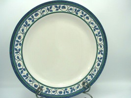 EUC Orleans by Pfaltzgraff Serving Platter 12 1/2' in White/Blue Dishes USA - $26.22