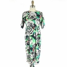 2 - Asos Maternity Short Sleeve Bold Floral Patterned Midi Dress NEW 0514MM - $30.00