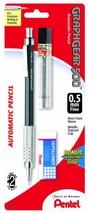 Pentel Graph Gear 500 Automatic Drafting Pencil with Lead and Mini Eraser, 0.5 m - $7.84