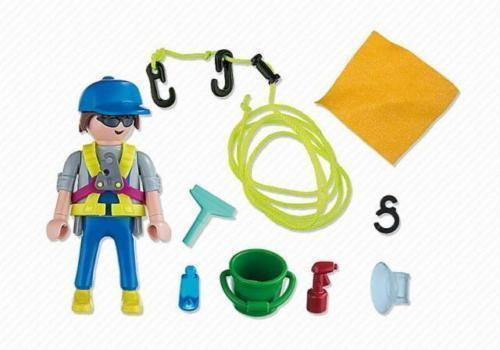 Playmobil 5379 - Special PLUS - Window Cleaner - New and Sealed
