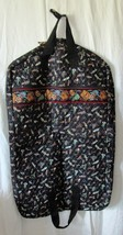 Vera Bradley Retired Rare Black Lures Garment Bag - $1.758,67 MXN