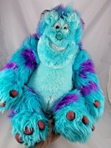"Disney Monster's Inc Sulley Plush Huge Sits 17"" Sully Just Play Stuffed Animal - $12.95"