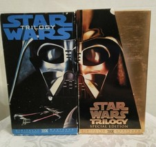 LOT OF STAR WARS TRILOGY VHS MOVIES (SPECIAL EDITION AND REGULAR) - $24.70