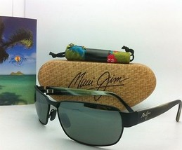 Maui Jim Sunglasses Black Coral Mj 249-2M Black Frames w/ Grey Polarized Lenses - $299.00