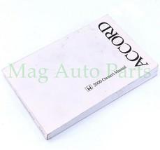00 Honda Accord Owners Manual User Guide Reference Sedan 2000 Booklet Book OEM - $13.86
