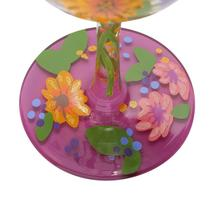 """Wine in the Garden """"Designs by Lolita"""" Wine Glass 15 o.z. 9"""" High  Gift Boxed image 5"""