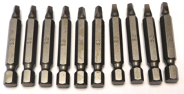 "Irwin 95122HH #2 x 2"" Square Power Bit 10 Pack - $2.23"